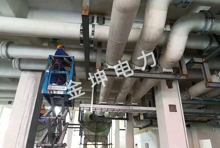 赛九江一期FRPP、PPH米乐m6app安装工程案例