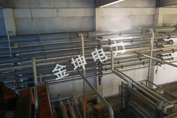 电厂化水FRPP、钢衬PO米乐m6app安装工程案例